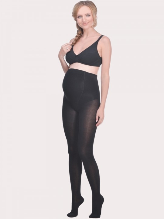 Maternity bamboo tights FIBER, 250 den